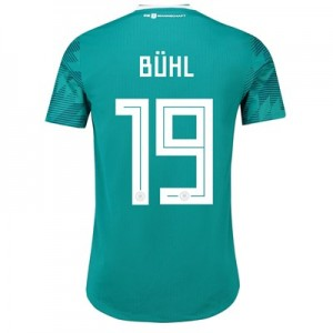 Germany Authentic Away Shirt 2018 with Bühl 19 printing