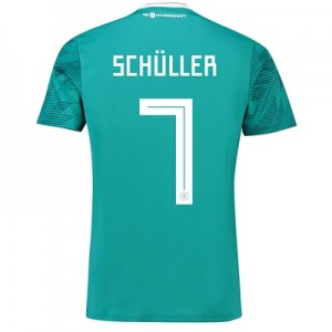 Germany Away Shirt 2018 with Schüller 7 printing