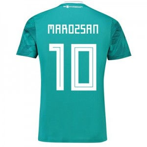 Germany Away Shirt 2018 with Marozsán 10 printing