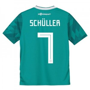 Germany Away Shirt 2018 - Kids with Schüller 7 printing