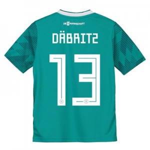 Germany Away Shirt 2018 - Kids with Däbritz 13 printing