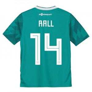 Germany Away Shirt 2018 - Kids with Rall 14 printing
