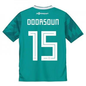 Germany Away Shirt 2018 - Kids with Doorsoun 15 printing