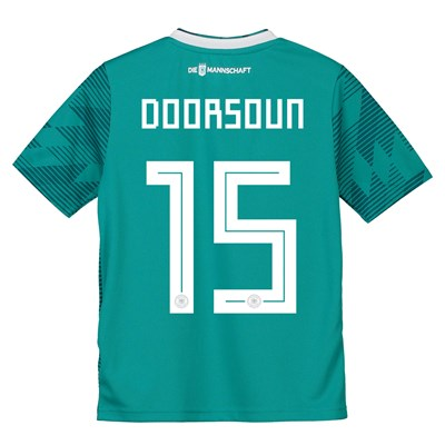 Germany Away Shirt 2018 - Kids with Doorsoun 15 printing