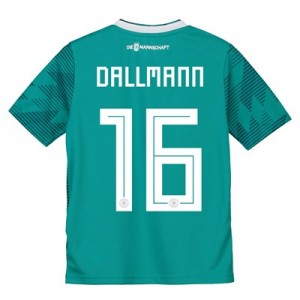 Germany Away Shirt 2018 - Kids with Dallmann 16 printing
