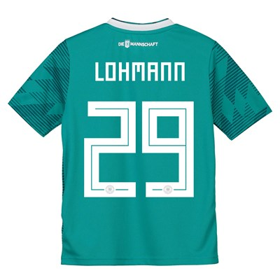 Germany Away Shirt 2018 - Kids with Lohmann 29 printing