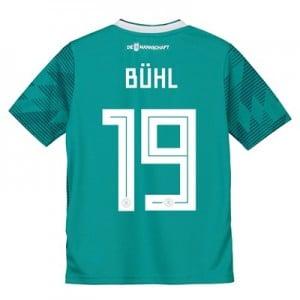 Germany Away Shirt 2018 - Kids with Bühl 19 printing
