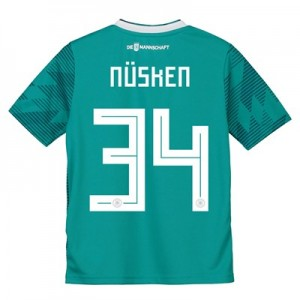 Germany Away Shirt 2018 - Kids with Nüsken 34 printing