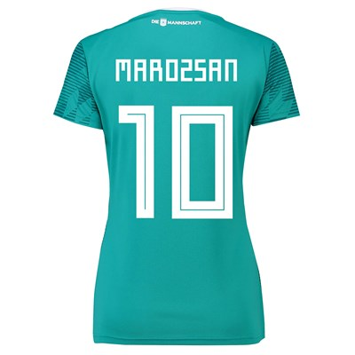 Germany Away Shirt 2018 - Womens with Marozsán 10 printing