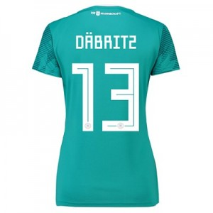 Germany Away Shirt 2018 - Womens with Däbritz 13 printing