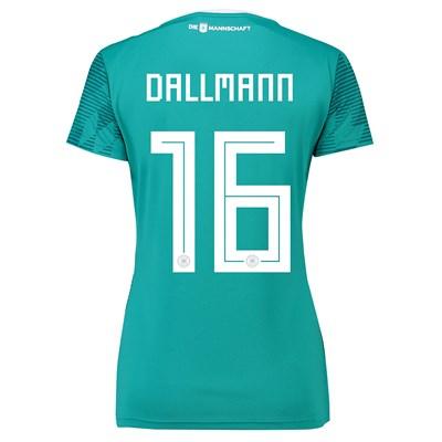 Germany Away Shirt 2018 - Womens with Dallmann 16 printing