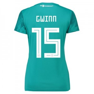 Germany Away Shirt 2018 - Womens with Gwinn 15 printing