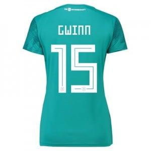 Germany Away Shirt 2018 - Womens with Gwinn 15 printing