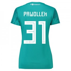 Germany Away Shirt 2018 - Womens with Pawollek 31 printing
