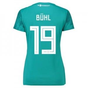 Germany Away Shirt 2018 - Womens with Bühl 19 printing
