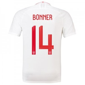 England Home Vapor Match Shirt 2018 - Mens with Bonner 14 printing