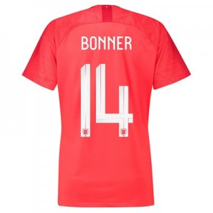 England Away Stadium Shirt 2018 - Womens with Bonner 14 printing