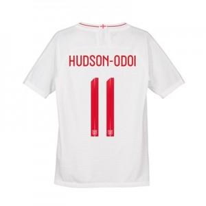 England Home Vapor Match Shirt 2018 - Kid's with Hudson-Odoi 11 printing