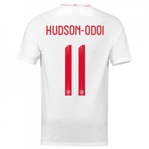 England Home Stadium Shirt 2018 - Men's with Hudson-Odoi 11 printing