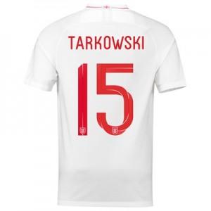 England Home Stadium Shirt 2018 - Men's with Tarkowski 15 printing