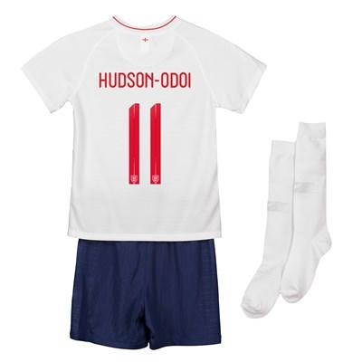 England Home Stadium Kit 2018 - Infants with Hudson-Odoi 11 printing
