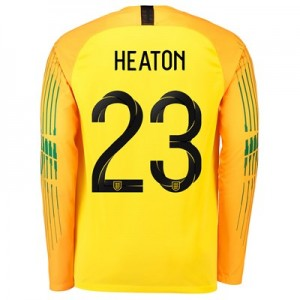 England Goalkeeper Stadium Shirt 2018 with Heaton 23 printing