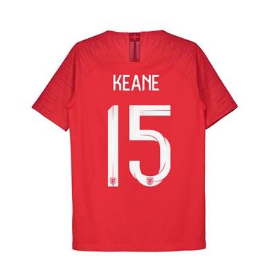 England Away Vapor Match Shirt 2018 - Kids with Keane 15 printing
