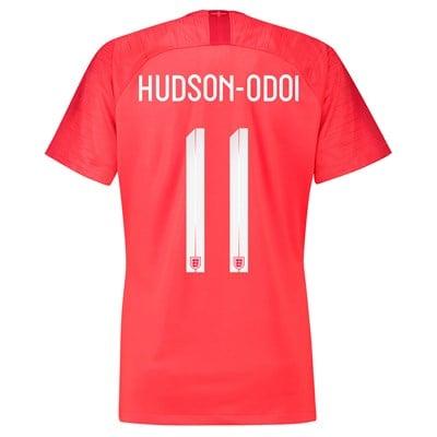 England Away Stadium Shirt 2018 - Womens with Hudson-Odoi 11 printing