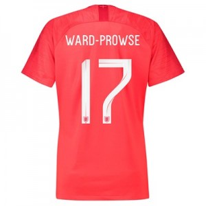 England Away Stadium Shirt 2018 - Womens with Ward-Prowse 17 printing