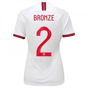 England Home Vapor Match Shirt 2019-20 - Women's with Bronze 2 printing