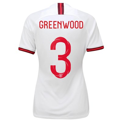England Home Vapor Match Shirt 2019-20 - Women's with Greenwood 3 printing