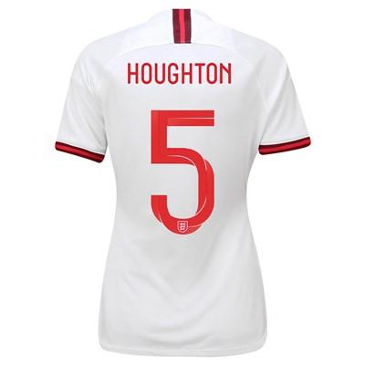 England Home Vapor Match Shirt 2019-20 - Women's with Houghton 5 printing