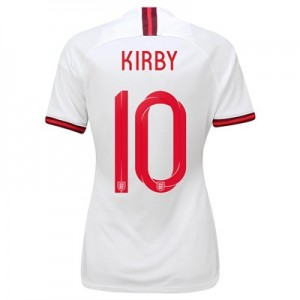 England Home Vapor Match Shirt 2019-20 - Women's with Kirby 10 printing