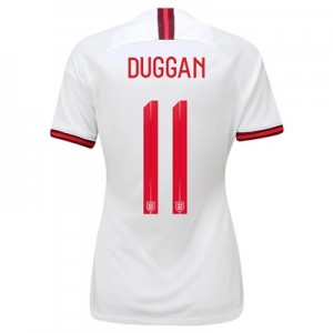 England Home Vapor Match Shirt 2019-20 - Women's with Duggan 11 printing
