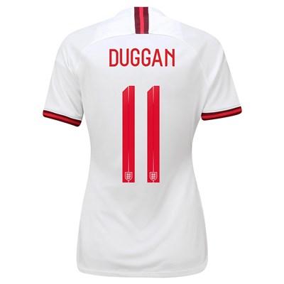 England Home Vapor Match Shirt 2019-20 - Women's with Duggan 11 printing