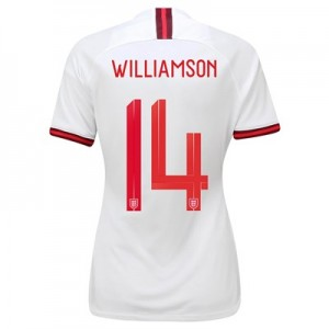 England Home Vapor Match Shirt 2019-20 - Women's with Williamson 14 printing