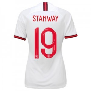 England Home Vapor Match Shirt 2019-20 - Women's with Stanway 19 printing
