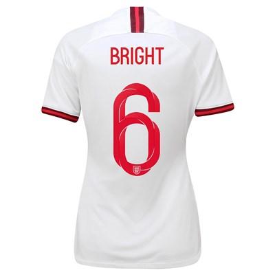 England Home Stadium Shirt 2019-20 - Women's with Bright 6 printing