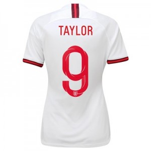 England Home Stadium Shirt 2019-20 - Women's with Taylor 9 printing
