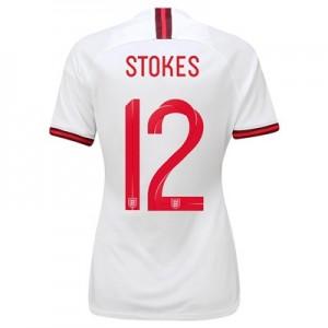 England Home Stadium Shirt 2019-20 - Women's with Stokes  12 printing