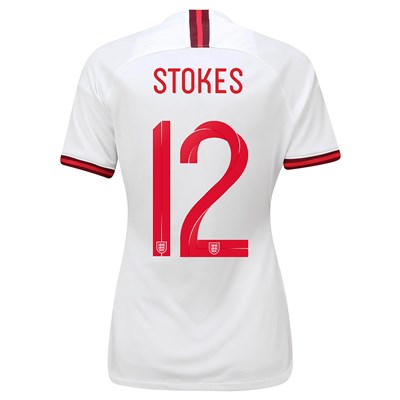 England Home Stadium Shirt 2019-20 - Women's with Stokes  12 printing