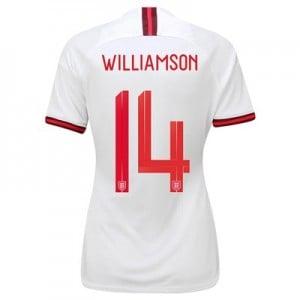 England Home Stadium Shirt 2019-20 - Women's with Williamson 14 printing