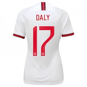 England Home Stadium Shirt 2019-20 - Women's with Daly 17 printing