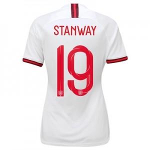 England Home Stadium Shirt 2019-20 - Women's with Stanway 19 printing