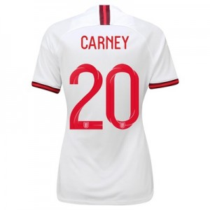 England Home Stadium Shirt 2019-20 - Women's with Carney 20 printing