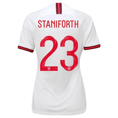 England Home Stadium Shirt 2019-20 - Women's with Staniforth 23 printing