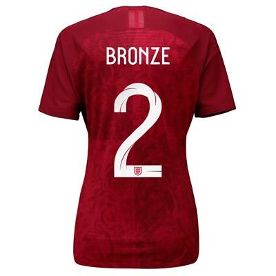 England Away Vapor Match Shirt 2019-20 - Women's with Bronze 2 printing
