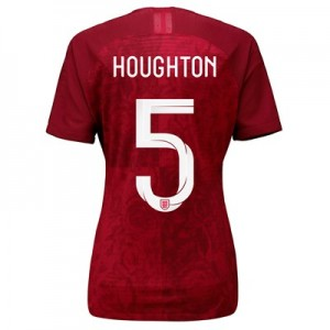 England Away Vapor Match Shirt 2019-20 - Women's with Houghton 5 printing