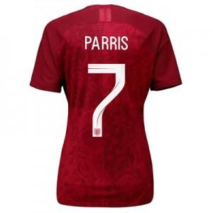 England Away Vapor Match Shirt 2019-20 - Women's with Parris 7 printing