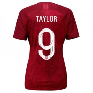 England Away Vapor Match Shirt 2019-20 - Women's with Taylor 9 printing
